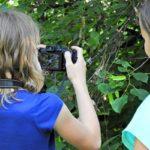 Práce se školními fotoaparáty v rámci výuky informatiky