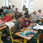 Práce s pomůckami pro výuku matematiky a geometrie