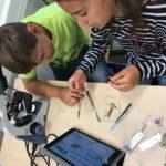 Biologie na projektových dnech na ČRG