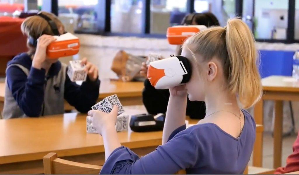 3D brýle ClassVR ve výuce