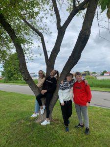 Žáci primy po zkouškách YLE